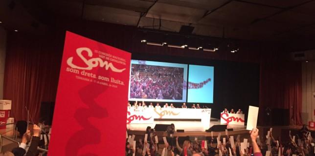 La gestió del Secretariat Nacional de la UGT de Catalunya queda aprovada pel 99,74%